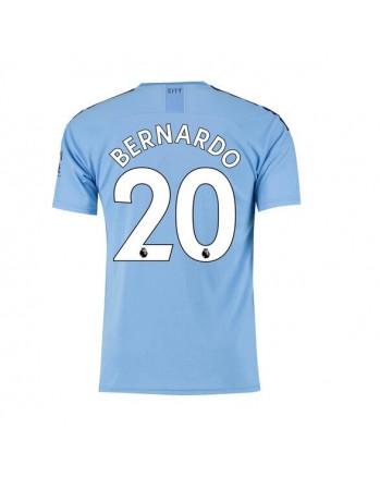 Manchester City Home BERNARDO Soccer Jersey 2019-20
