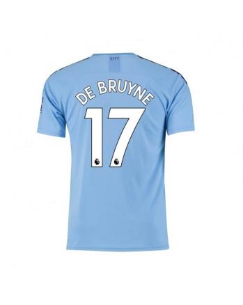 Manchester City Home DE BRUYNE Soccer Jersey 2019-20