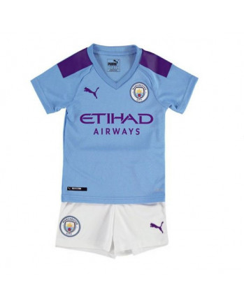 Manchester City Home Kids Soccer Kit 2019-20
