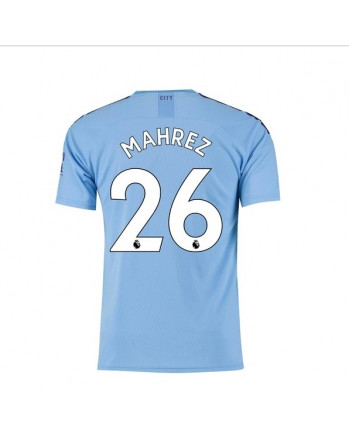 Manchester City Home MAHREZ Soccer Jersey 2019-20