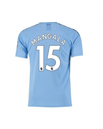 Manchester City Home MANGALA Soccer Jersey 2019-20