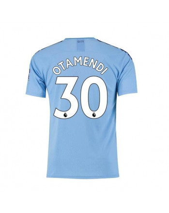 Manchester City Home OTAMENDI Soccer Jersey 2019-20
