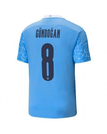 Manchester City Home GUNDOGAN Soccer Jersey 2020-21