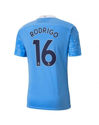 Manchester City Home RODRIGO Soccer Jersey 2020-21