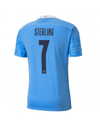 Manchester City Home STERLING Soccer Jersey 2020-21