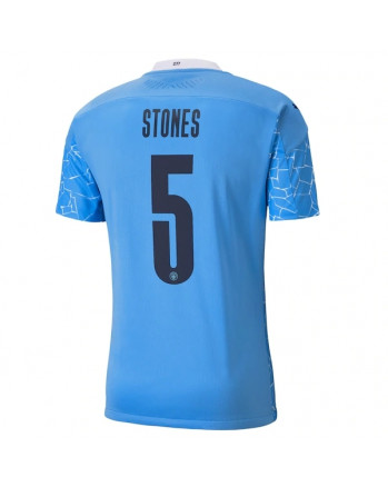 Manchester City Home STONES Soccer Jersey 2020-21