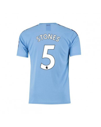 Manchester City Home STONES Soccer Jersey 2019-20