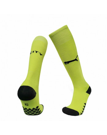 Manchester City Third Away Soccer Socks 2019-20