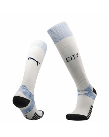 Manchester City Third Away Soccer Socks 2020-21