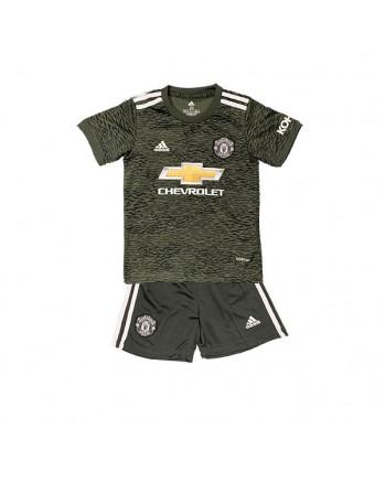 Manchester United Away Kids Soccer Kit 2020-21