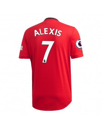 Manchester United Home ALEXIS Soccer Jersey 2019-20
