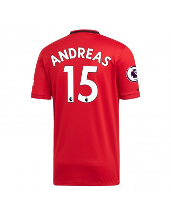 Manchester United Home ANDREAS Soccer Jersey 2019-20
