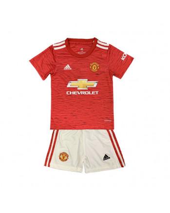 Manchester United Home Kids Soccer Kit 2020-21