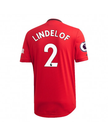 Manchester United Home LINDELOF Soccer Jersey 2019-20
