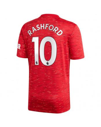 Manchester United Home RASHFORD Soccer Jersey 2020-21