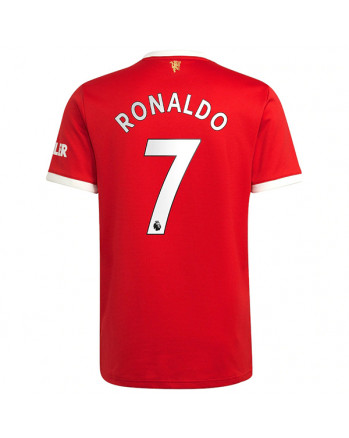 Manchester United Home RONALDO Soccer Jersey 2021-22