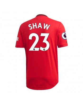 Manchester United Home SHAW Soccer Jersey 2019-20