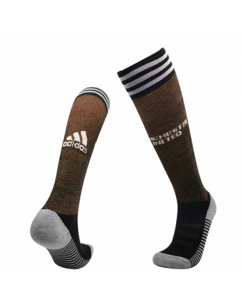 Manchester United Home Soccer Socks 2020-21