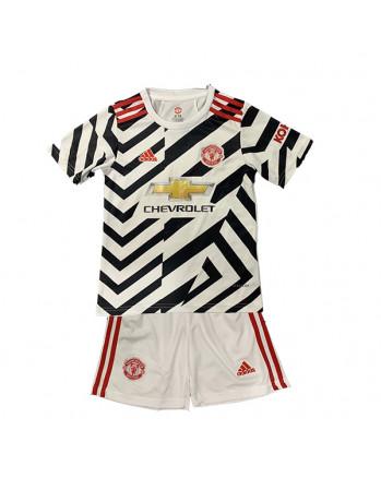 Manchester United Third Away Kids Soccer Kit 2020-21