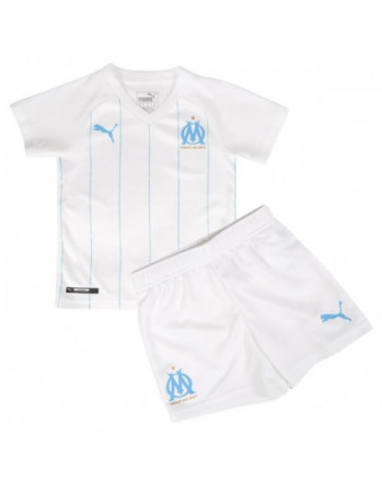 Marseille Home Kids Soccer Kit 2019-20
