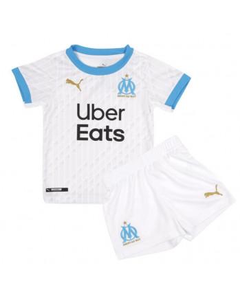 Marseille Home Kids Soccer Kit 2020-21
