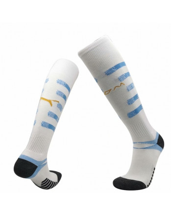 Marseille Home Soccer Socks 2020-21