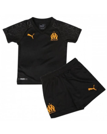Marseille Third Away Kids Soccer Kit 2019-20