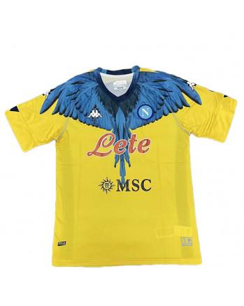 Napoli Kappa × Marcelo Burlon Yellow Version Jersey