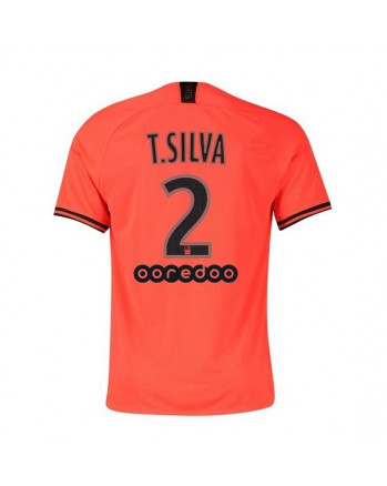 Paris SG Away T. SILVA Soccer Jersey 2019-20