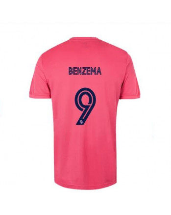 Real Madrid Away BENZEMA Soccer Jersey 2020-21