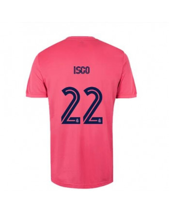 Real Madrid Away ISCO Soccer Jersey 2020-21