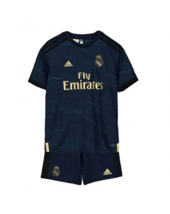 Real Madrid Away Kids Soccer Kit 2019-20