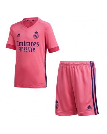 Real Madrid Away Kids Soccer Kit 2020-21