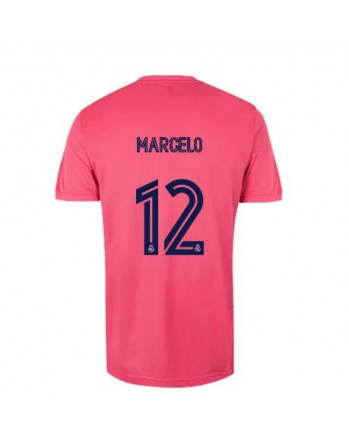 Real Madrid Away MARCELO Soccer Jersey 2020-21