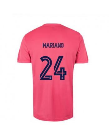 Real Madrid Away MARIANO Soccer Jersey 2020-21