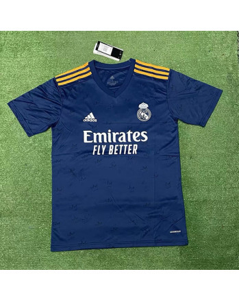 Real Madrid Away Soccer Jersey 2021-22