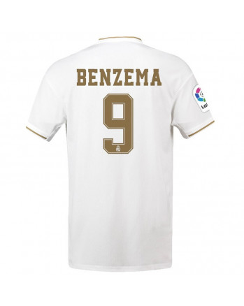 Real Madrid Home BENZEMA Soccer Jersey 2019-20