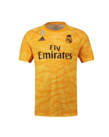 Real Madrid Home Goalkeeper Soccer Jersey 2019-20