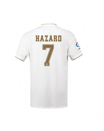Real Madrid Home HAZARD Soccer Jersey 2019-20