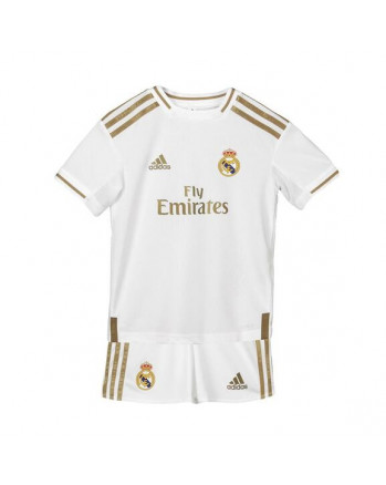 Real Madrid Home Kids Soccer Kit 2019-20