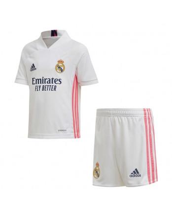 Real Madrid Home Kids Soccer Kit 2020-21