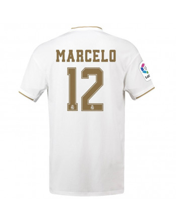 Real Madrid Home MARCELO Soccer Jersey 2019-20