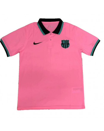 Real Madrid Pink Polo Training Shirt 2020-21