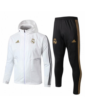 Real Madrid White Training Tracksuit 2019-20