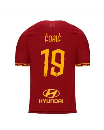 Roma Home CORIC Soccer Jersey 2019-20