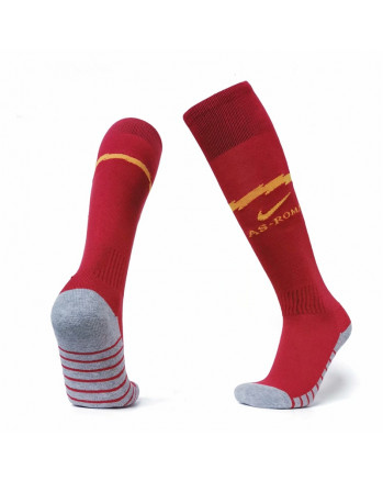 Roma Home Soccer Socks 2019-20