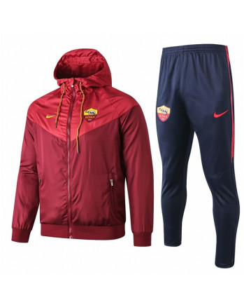 Roma Red Training Tracksuit 2019-20