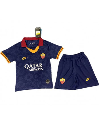 Roma Third Away Kids Soccer Kit 2019-20