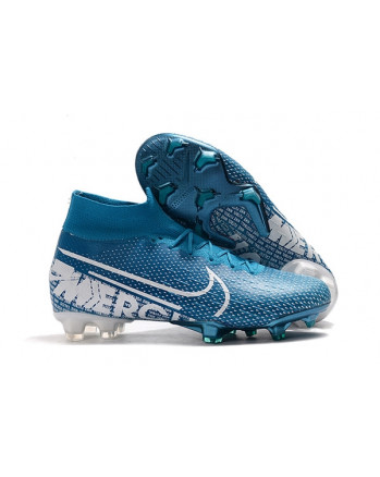Ronaldo Boots Mercurial Superfly VII 360 Elite FG Boots Blue FT201907250003