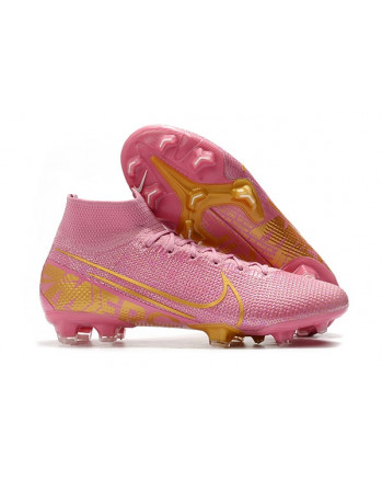 Ronaldo Boots Mercurial Superfly VII 360 Elite FG Boots Pink FT202002160002